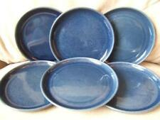 Tableware Blue Denby Stoneware Side Plates