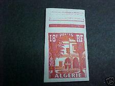 ALGERIA SCOTT #269 LH IMPERF PATIO OF BANDO MUSEUM