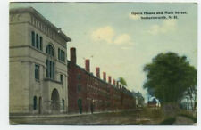 Somersworth, NH postcard - Opera House and Main St.