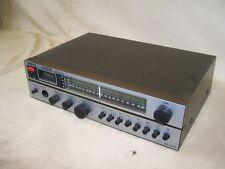 SR 2401 Receiver Robotron Clock, RFT HifI DDR Radio, Tuner mit Verstärker