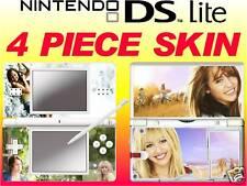 Nintendo DS Lite-hannah montana film - 4 pièce / Autocollant peau