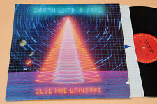 EARTH WIND FIRE LP ELECTRIC UNIVERS 1°ST USA GATEFOLD+INNER AUDIOPHILES EX