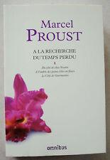 A la recherche du temps perdu, tome 1 Marcel PROUST éd Omnibus 2011