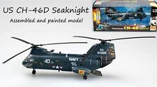 US Boeing CH-46 Sea Knight helicopter HC-3 DET-104 1/72  plane Easy model