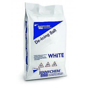 Clean White De Icing Salt Gritting For Snow/Ice (No Mess Salt) 25KG