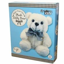 Make Your Own Teddy Bear Plush Soft Cuddly Craft Toy - Kreative Kids