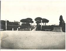 Roma, Villa Albani Vintage silver print Tirage argentique d'époque  20x