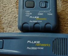 Fluke Networks Pro 3000 Analog Tone Generator and Probe Kit With Nail Clips