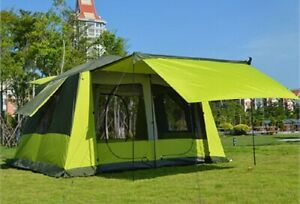 New Design 8-12 Person Ultra Large  Double Layer Waterproof Strong Tent Gazebo