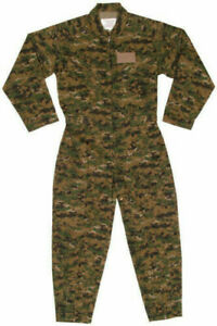 Fox Tactical Air Force Style Digital Woodland Camo Zip Coveralls (New With Tags)