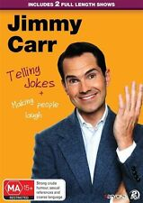 Jimmy Carr - Telling Jokes & Making People Laugh (DVD, 2015, 2-Disc Set)