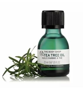 The Body Shop Tea Tree Oil Suitable for Blemished Skin 20ml 100% Vegan Brand New