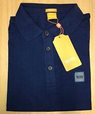 Hugo Boss Short Sleeve Men's Pavlik Orange Polo T-shirt