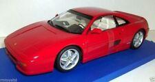 Modellini statici di auto da corsa rossi marca Ferrari Scala 1:18
