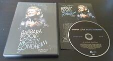 Barbara Cook in Mostly Sondheim (DVD, 2003) live concert vocalist music RARE