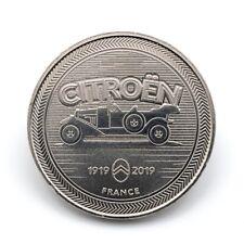 Médaille souvenir Monnaie de Paris 2019 - 100 ans Citroën