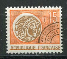 FRANCE TIMBRE  PREOBLITERE  N° 124  OBL   TYPE MONNAIE GAULOISE
