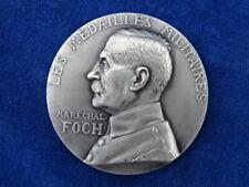 SPL - MEDAILLE ARGENT / Silver medal - MILITARIA - G PRUDHOMME MARECHAL FOCH