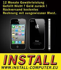 APPLE IPHONE 4 32GB SCHWARZ - OHNE SIMLOCK - OHNE VERTRAG - SMARTPHONE  defekt