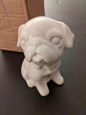 NIB  Bulldog Ceramic White  Bank