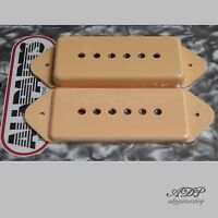Caches Micro Dog Ear P90 Staggered Cover Pickup Vintage Gibson Cream PC0739-028
