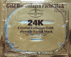 20 PCS Gold Bio-Collagen Facial (Face) Mask, Anti-Aging, Hydrating, Repair Skin