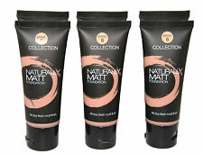 3 x Collection 2000 Naturally Matt Foundation  | Bronze | RRP £18 | Wholesale
