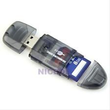 USB 2.0 MMC SD SDHC Memory Card Reader Writer Adapter 2/4/8/16/32/64GB NEW