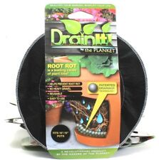 """6 DrainIt By The Planket Prevent Root Rot Reusable Drainage Technology 16""""To19"""""""