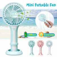 Mini Cooling Cooler Fan Wireless Portable USB Handheld Rechargeable Fans