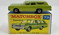 Matchbox Superfast No. 73 Green Mercury in Original Box