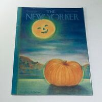 The New Yorker: November 3 1975 Eugene Mihaesco Halloween Cover full magazine