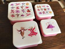 Emma Bridgewater  Snack Boxes, 4, stackable, melamine,Dancing Mice