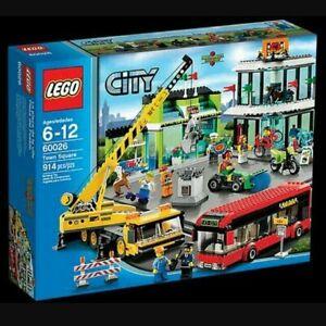 Lego 60026 City Shopping Square New Sealed