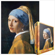Jigsaw EG60005158 eurographics puzzle 1000 pc-girl with the pearl earring
