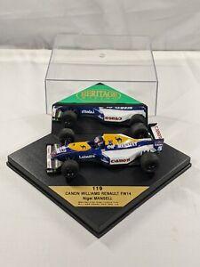Nigel Mansell, 1992 World Champion, Williams Renault, FW14, F1, 1:43 Onyx