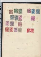 belgium  stamps page ref 18066