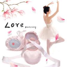 Women Girls Ballet Dance Shoes Soft Satin Pointe Suede Sole Yoga Shoes Health