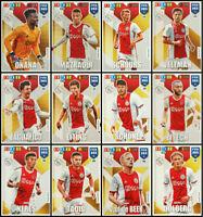 ADRENALYN XL FIFA 365 2020 AJAX FULL SET OF 12 TEAM MATE TRADING CARDS