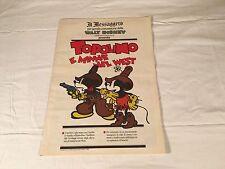 TOPOLINO E MINNIE NEL WEST il messaggero 5 AGOSTO 1989