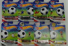 2016 Soccer Fútbol SURTIDO 8PZS. djl38 EE.UU. 1:64 Hot Wheels
