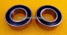 1 Pcs - 15267-2Rs (15x26x7 mm) Rubber Sealed Ball Bearing Bearings Black 15*26*7