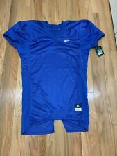Nwt Nike Mens Team Defender Football Jersey Top Blue 535703 493 Msrp $55 Size Xl