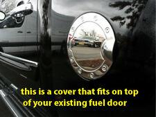 07-2014 Chevy Silverado chrome fuel door cover gas cap petro COVER ONLY