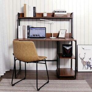 PC Computer Desk Table Home Office Workstation Student Dorm Laptop Study Shelf