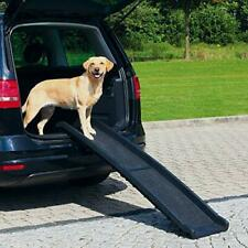 """Open Box Portable Foldable Non-Slip Dog Ramp Supports Up to 150lbs 15"""" W 62"""" L"""