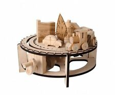 Chuffy Train Timberkits Self-Assembly Wooden Model Moving Construction Kit