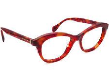 Miu Miu Eyeglasses VMU 07L GAT-101 Burgundy Tortoise Frame Italy 51[]18 140