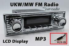 Retrosound LAGUNA Set Completo Cromo-B Oldtimer radio mp3 Aux-in l308309c078008