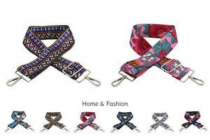 Adjustable Crossbody Bag Strap Replacement For Handbag Detachable Handle UK